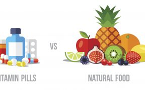 Vitamin pills vs natural food